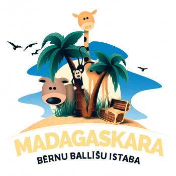 """Bērnu ballīšu istaba """"Madagaskara"""""""