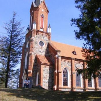 Velēnas baznīca.
