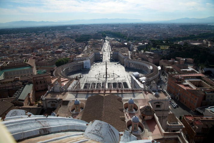 Vatican, view on Rome, Dace & Gilles photography