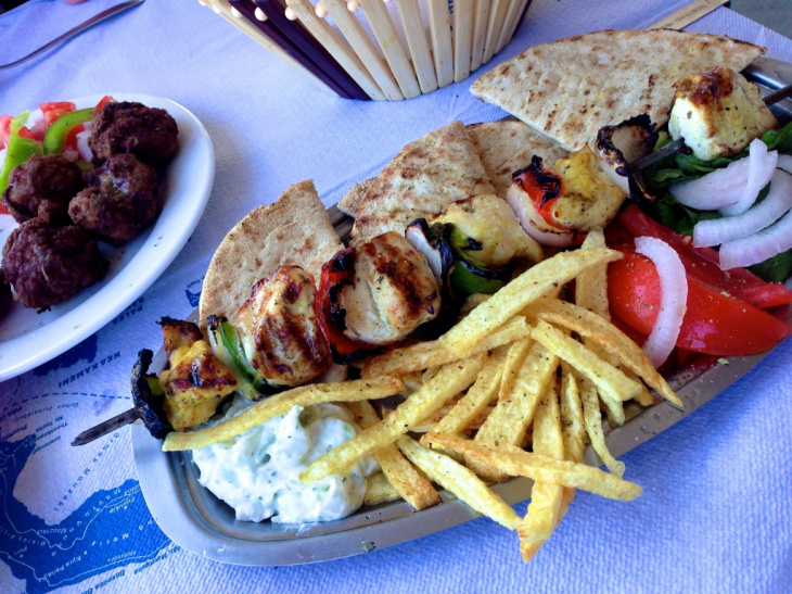 Greek food, Santorini, Dace & Gilles photography